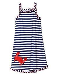 Sara's Prints Girls' Puffed Sleeve Nightgown