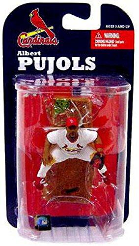 Albert Figure - McFarlane Toys MLB 3 Inch Sports Picks Series 7 Mini Figure Albert Pujols (St. Louis Cardinals)