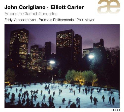 John Corigliano & Elliott Carter: American Clarinet Concertos by Brussels Philharmonic Orchestra