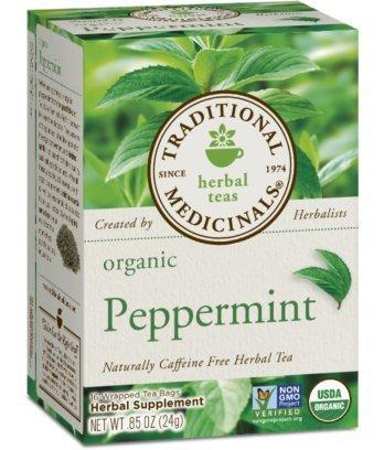 - Traditional Medicinal's Organic Peppermint Tea (3x16 bag) by Traditional Medicinals