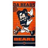 disney chicago bears - WinCraft Chicago Bears Mickey Mouse Disney Beach Towel