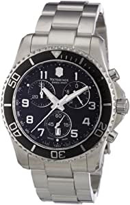 Victorinox Swiss Army Men's 241432 Maverick GS Stainless Steel Chronograph Watch