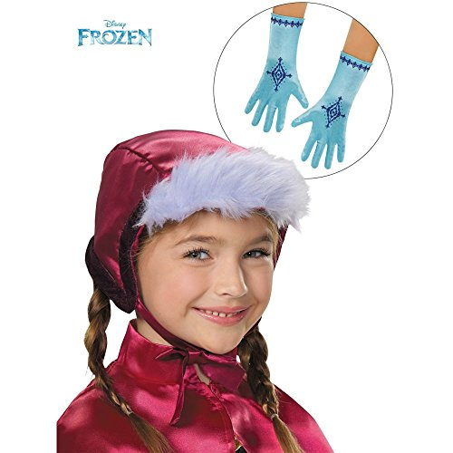 [Disguise Anna Bonnet & Gloves Costume] (Baby Anna Costumes Frozen)