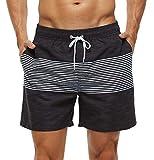SILKWORLD Men's Swim Trunks Quick Dry Bathing