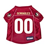 Florida State Seminoles Premium NCAA Pet Dog Jersey w/ Name Tag LARGE