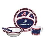 U.S. Marine Corps Kids Dish Set