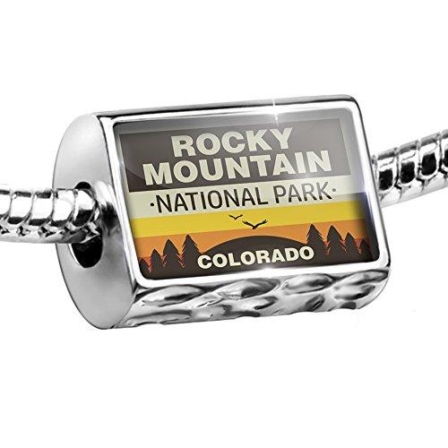 NEONBLOND Bead National Park Rocky Mountain Charm Fits All European Bracelets