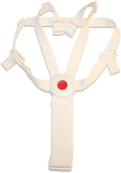 Chicco Harnais de sécurité de rechange pour chaises hautes Polly Magic 2 en 1 et Polly Magic Blanc