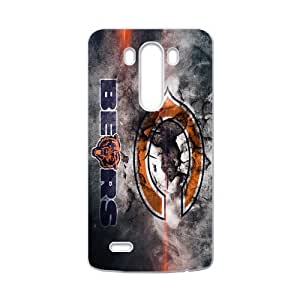 Retro Fashion Design Logo Chicago Bears LG G3 Case Cover Shell (Laser Technology)