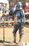 LARP Armor Medieval Knight Halloween Costume Body Suit Of Armor