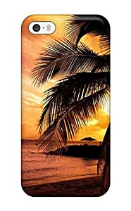 Fashion Protective Beach Earth Nature Beach Case Cover For Iphone 5/5s