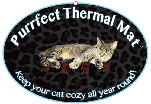 Cat Bed – Purrfect Thermal Cat Mat Leapord Prints 51qVkQIYMeL