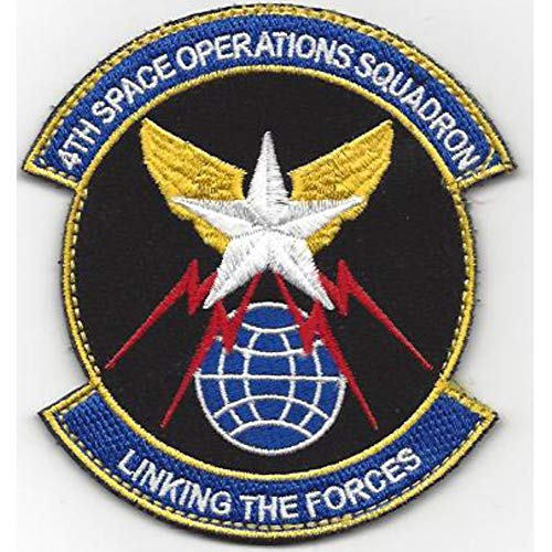 4th Space Operations Squadron Patch Hook And ()