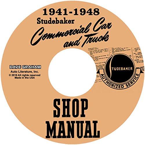 Studebaker Pickup Shop Manual 1941 1942 1946 1947 1948 Truck Repair Book