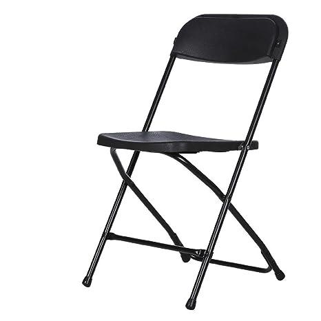 LVLUOYE Sillas Plegable de plástico sillas Plegables de ...