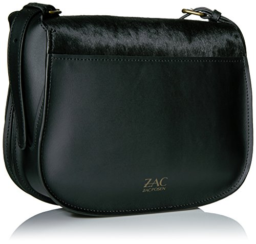 Zac Iconic Eartha Black Saddle Posen ZAC H0qCwH
