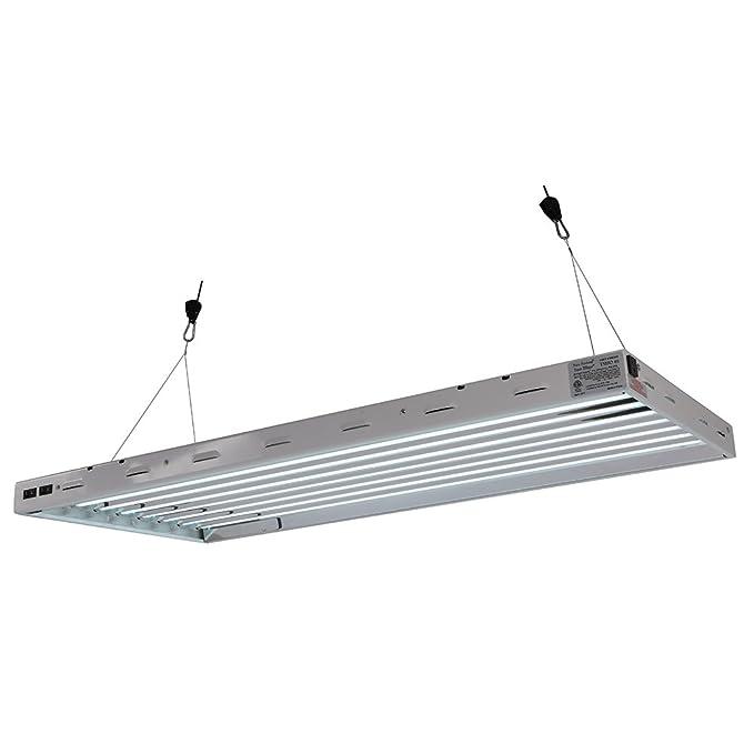 Com Sun Blaze T5 Fluorescent 4 Ft Fixture 8 Lamp 120v Indoor Grow Light Hydroponic Greenhouse Use Plant Growing Bulbs