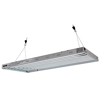 sun blaze t5 fluorescent 4 ft fixture 8 lamp 120v indoor