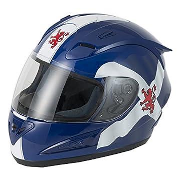 Vcan v100 F Fibra de vidrio cara completa casco de motocicleta Moto ACU Gold Sharp 4