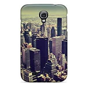 CIYtqWE8742hwAFv Tpu Case Skin Protector For Galaxy S4 New York City Tilt Shift With Nice Appearance