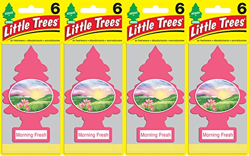 Fresh Air Freshener (Little Trees Morning Fresh Air Freshener, (Pack of 24))