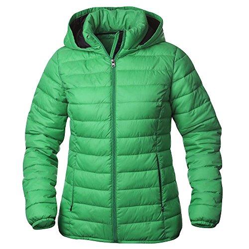 Ladies Femme Padded Jacket Arkansas Blouson Modern Vert Clique dw8gd