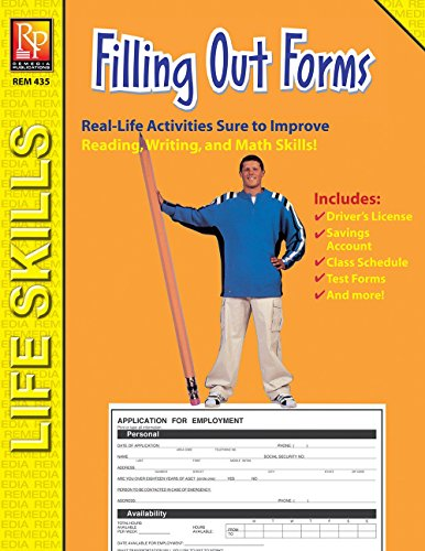 Filling Form (Filling Out Forms: Practical Practice Reading)
