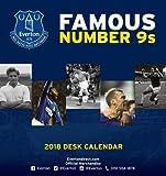 Everton Official Desk Easel 2018 Calendar - Month To View Desk Format