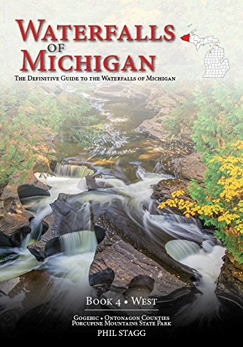 Waterfalls of Michigan - Book 4 is the definitive guidebook to the waterfalls in the western end of Michigan's Upper Peninsula. This book includes the waterfalls in Gogebic and Ontonagon Counties as well as Porcupine Mountains State Park. Detailed co...