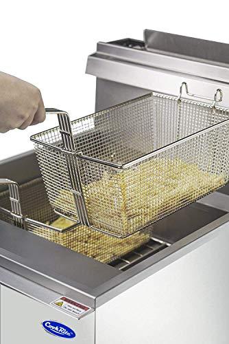 Amazon.com: CookRite freidora comercial con cestas 3/4/5 ...