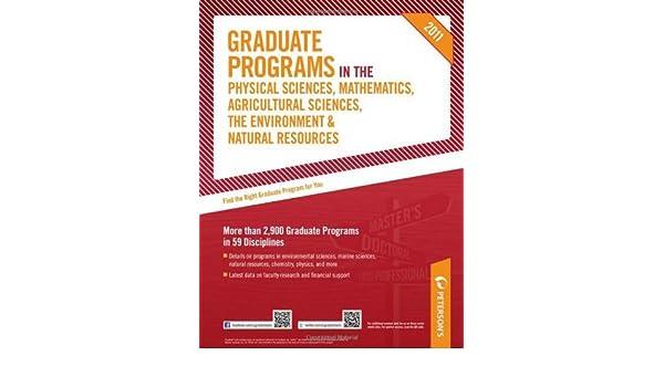 peterson s graduate programs programs in mathematics 2011 petersons