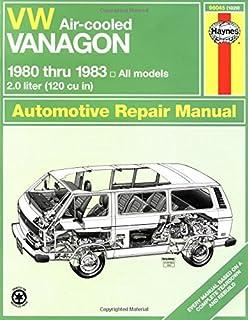 volkswagen vanagon repair manual 1980 1981 1982 1983 1984 1985 rh amazon com 1988 vanagon owners manual 1986 vanagon owners manual