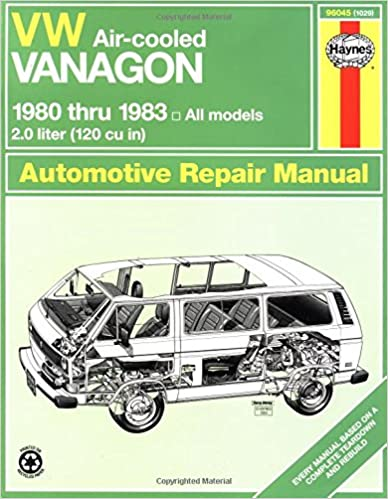 Vw vanagon air cooled 1980 1983 haynes manuals john haynes vw vanagon air cooled 1980 1983 haynes manuals 1st edition fandeluxe
