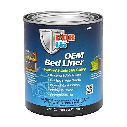 Absolute Coatings (POR15) OEM BEDLINER - Liner Quart Bed