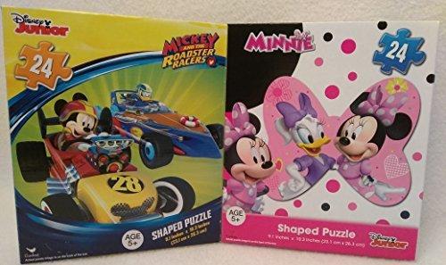 Disney Princess Snow White Toddler Gloves (Kids Playtime Toddler Fun - 48 Pieces Jigsaw Puzzle 2 Piece SET Minnie & Mickey Mouse Disney)
