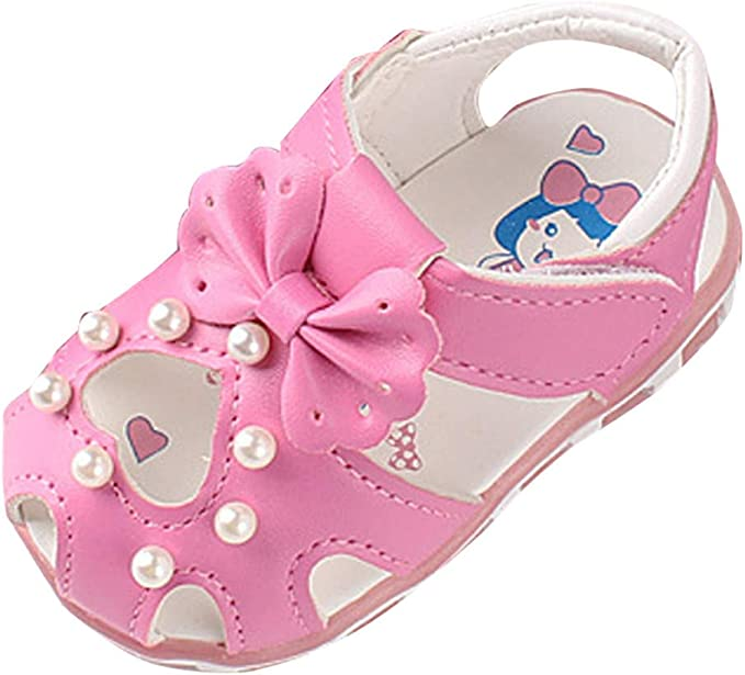 UK/_ CN/_ BABY GIRLS TODDLER AUTUMN FLORAL BOWKNOT SOFT SOLE SHOES FIRST WALKER ST