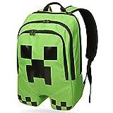 Minecraft Creeper Backpack Cartoon School Bag