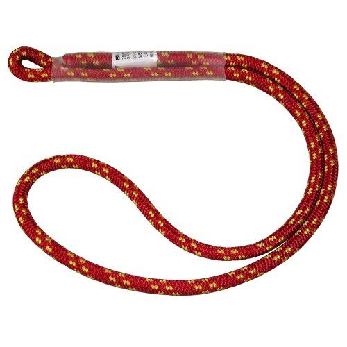 BlueWater Ropes 7mm Sewn Prusik Loop (Red, - Cord Prusik