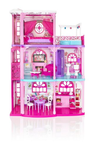 51qVqSPyDoL barbie 3 storey dreamhouse mattel amazon co uk toys & games Barbie Dreamhouse at bayanpartner.co
