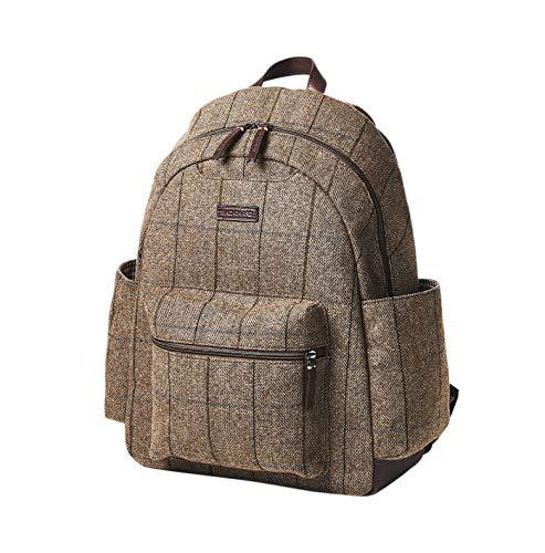- Baekgaard Clark Backpack (Wool Tweed)