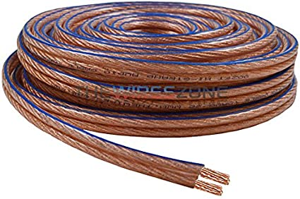 10 GA 10AWG 20 FOOT Speaker wire spool WOOFER wiring quality stranded cable