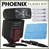 Phoenix Smart Flash 112 DZBIS For Nikon Digital SLR Cameras + Accessory Kit
