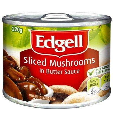 Edgell Champiñones Salsa de Mantequilla 220 g: Amazon.es: Alimentación y bebidas