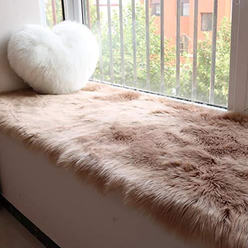 Window Bench Cushion, Bay Window Pad Tea Table Blanket Living Room Bedroom Bedside Carpet Tufted Comfort Soft Seat Cushion-b 50x100cm(20x39inch)