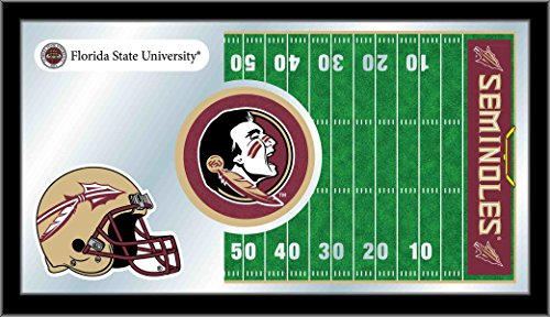 (Holland Bar Stool Company NCAA Florida Gators 15 x 26-Inch Football Mirror)