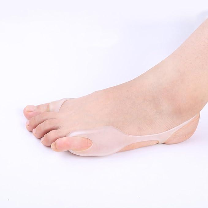 PBFONE - 2 pares de calcetines para dedo gordo de los pies para corrector ortopédico Hallux Valgus: Amazon.es: Salud y cuidado personal