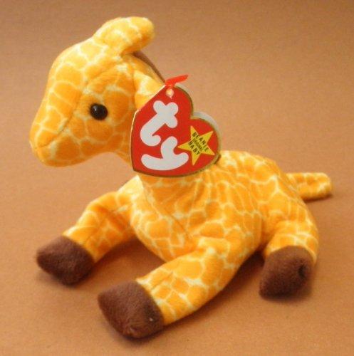 TY Beanie Babies Twigs the Giraffe Plush Toy Stuffed Animal ()