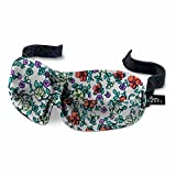 Bucky 40 Blinks Ultralight & Comfortable Contoured, No Pressure Eye Mask for Travel & Sleep, Perfect with Eyelash Extensions - Ditsy Floral