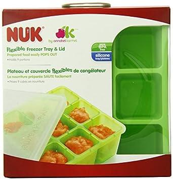 Homemade Baby Food Bandeja Congelador Flexible y Tapa Set