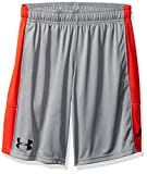Under Armour Boys Instinct Shorts, Steel Light